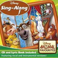 DISNEY SING -ALONG: ANIMAL FAVOURITES / VARIOUS CD
