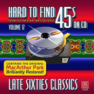 HARD TO FIND 45S ON CD V17: LATE SIXTIES / VAR CD