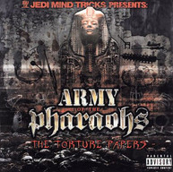 JEDI MIND TRICKS - ARMY OF THE PHARAOHS: THE TORTURE PAPERS CD