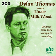 DYLAN THOMAS - READS UNDER MILKWOOD CD