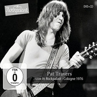 PAT TRAVERS - LIVE AT ROCKPALAST: COLOGNE 1976 (+DVD) CD