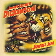JAMES LUTHER DICKINSON - JUNGLE JIM & THE VOODOO TIGER CD.