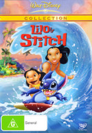 LILO AND STITCH (2002) DVD.