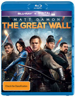 THE GREAT WALL (IN CINEMA'S NOW - PRE ORDER TODAY) BLURAY