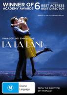 LA LA LAND (2016) DVD