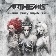 ARTHEMIS - BLOOD-FURY-DOMINATION CD