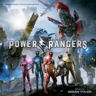 BRIAN TYLER - POWER RANGERS / SOUNDTRACK CD