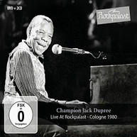 CHAMPION JACK DUPREE - LIVE AT ROCKPALAST: COLOGNE 1980 CD