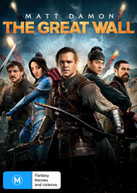 THE GREAT WALL (2016) DVD
