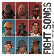 VALVE STUDIO ORCHESTRA - FIGHT SONGS: THE MUSIC OF TEAM FORTRESS 2 (COLOURED) VINYL