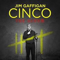 JIM GAFFIGAN - CINCO VINYL