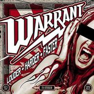 WARRANT - LOUDER HARDER FASTER CD