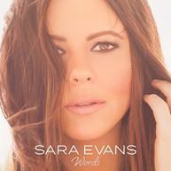 SARA EVANS - WORDS CD
