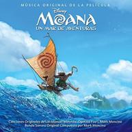 MOANA UN MAR DE AVENTURAS / SOUNDTRACK (IMPORT) CD