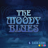 MOODY BLUES - 5 CLASSIC ALBUMS CD