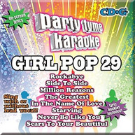 PARTY TYME KARAOKE: GIRL POP 29 / VARIOUS CD