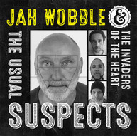 JAH WOBBLE &  THE INVADERS OF THE HEART - USUAL SUSPECTS CD