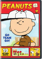 PEANUTS BY SCHULZ: GO TEAM GO DVD