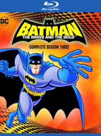 BATMAN: BRAVE &  THE BOLD - COMPLETE THIRD SEASON BLURAY