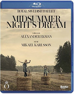 KARLSSON /  ROYAL SWEDISH BALLET - MIDSUMMER NIGHT'S DREAM BLURAY
