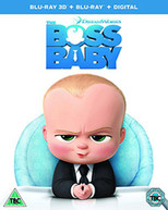 THE BOSS BABY 3D [UK] BLU-RAY