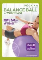BALANCE BALL FOR WEIGHT LOSS DVD