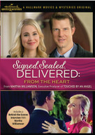 SIGNED SEALED DELIVERED: FROM THE HEART DVD