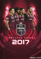 STATE OF ORIGIN: 2017 SERIES QUEENSLAND (2017)  [DVD]
