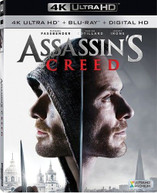 ASSASSIN'S CREED 4K BLURAY