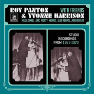 ROY / HARRISON PANTON &  FRIENDS - STUDIO RECORDINGS 1961 - STUDIO VINYL