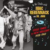 MAC (AKA) (DR) (JOHN) REBENNACK - IN THE STUDIO WITH MAC REBENNACK: VINYL