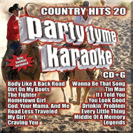 PARTY TYME KARAOKE: COUNTRY HITS 20 / VARIOUS CD