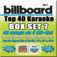 PARTY TYME KARAOKE: BILLBOARD TOP 40 BOXSET 7 / VA CD