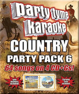 PARTY TYME KARAOKE: COUNTRY PARTY PACK 6 / VAR CD