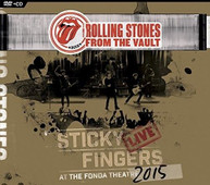 ROLLING STONES - FROM THE VAULT - STICKY FINGERS: LIVE AT FONDA (DVD/CD) CD