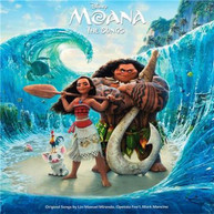 VARIOUS ARTISTS - MOANA: THE SONGS * CD