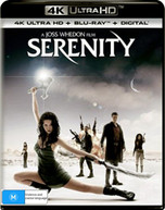 SERENITY (4K UHD/BLU-RAY/UV) (2005)  [BLURAY]