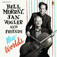 BILL MURRAY, JAN VOGLER - NEW WORLDS * CD