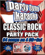 PARTY TYME KARAOKE: CLASSIC ROCK PARTY PACK / VAR CD
