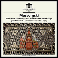 MUSSORGSKY /  MARKEVICH / LEIPZIG - MUSSORGSKY: PICTURES AT AN VINYL