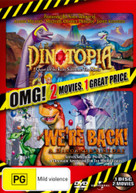 DINOTOPIA: QUEST FOR THE RUBY SUNSTONE / WE'RE BACK! A DINOSAUR'S STORY [DVD]