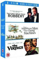 VIKINGS / GREAT TRAIN ROBBERY / THOSE MAGNICICENT [UK] BLU-RAY