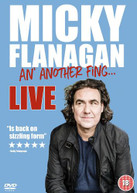 MICKY FLANAGAN AN ANOTHER FING LIVE [UK] DVD