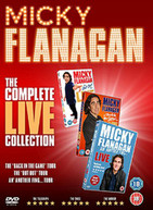 MICKY FLANAGAN THE COMPLETE LIVE COLLECTION [UK] DVD