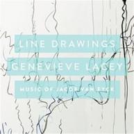 GENEVIEVE LACEY - LINE DRAWINGS: MUSIC OF JACOB VAN EYCK * CD