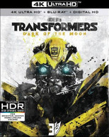 TRANSFORMERS: DARK OF THE MOON 4K BLURAY