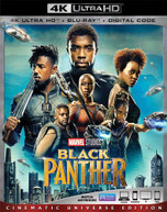 BLACK PANTHER 4K BLURAY