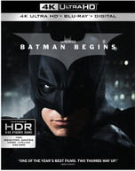 BATMAN BEGINS 4K BLURAY