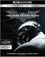 DARK KNIGHT RISES 4K BLURAY