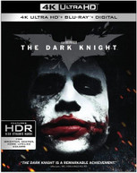 DARK KNIGHT 4K BLURAY